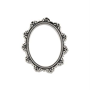 Picture of Antique Silver Oval Frame